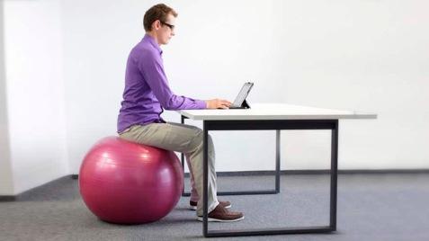 Stability-Ball-Desk