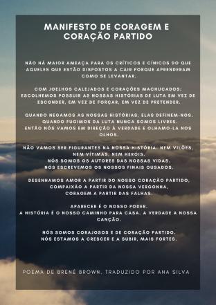 Manifesto de Coragem e Coração partido(1)